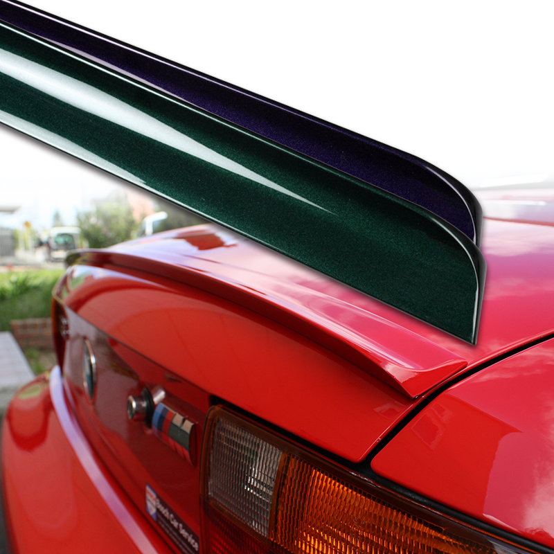 custom painted rear trunk boot lip spoiler honda accord