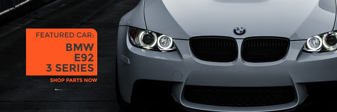Shop BMW E92 3 series parts now