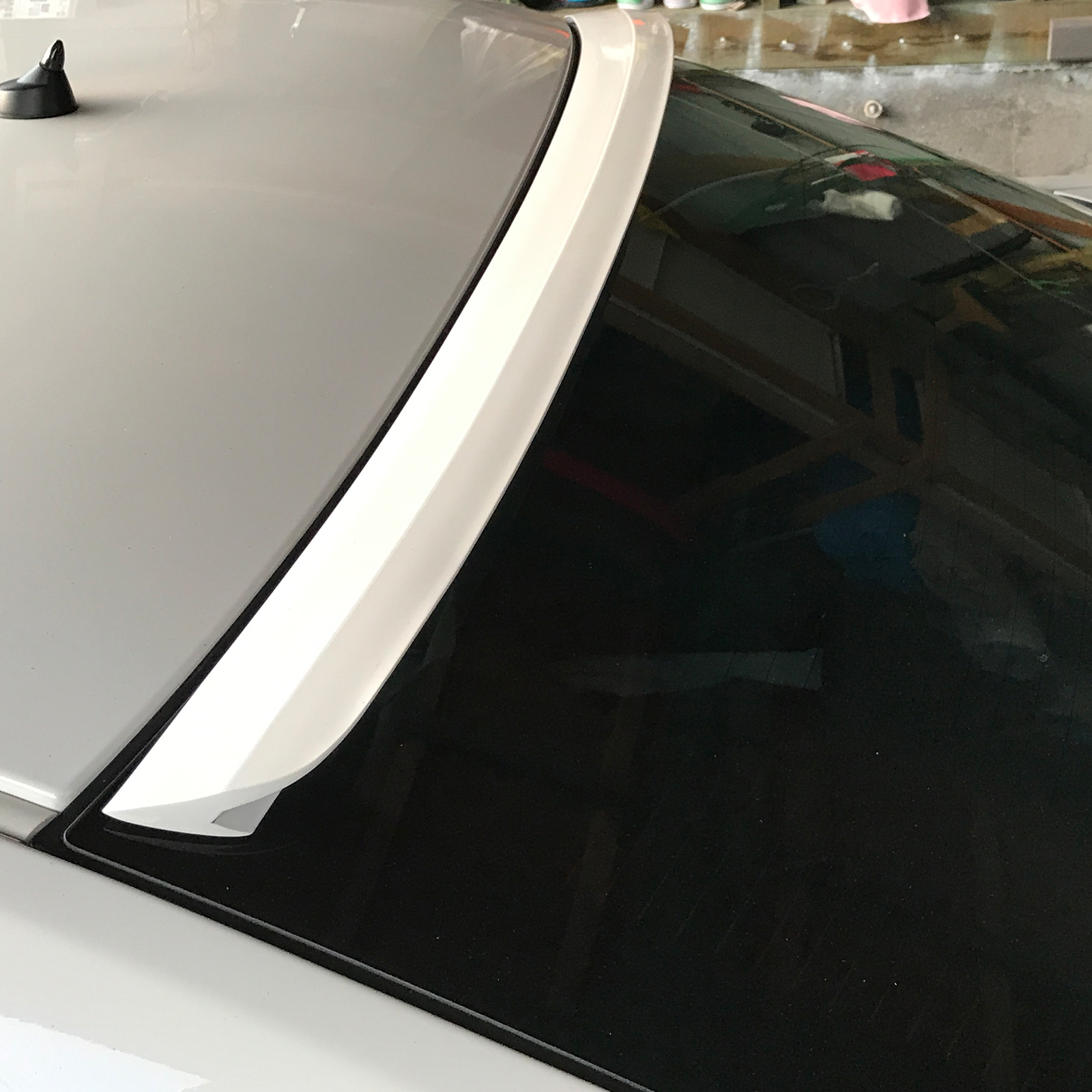 Fyralip F Style Roof Rear Window Spoiler For Toyota Corolla 00-08 Painted 209