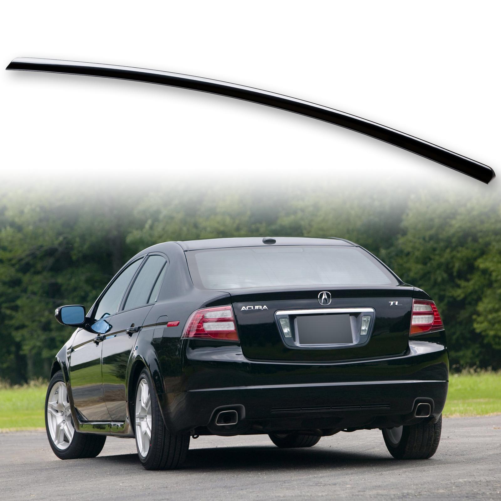 Fyralip Painted Trunk Lip Spoiler For 04 08 Acura Tl Nighthawk Black Pearl B 92p Ebay