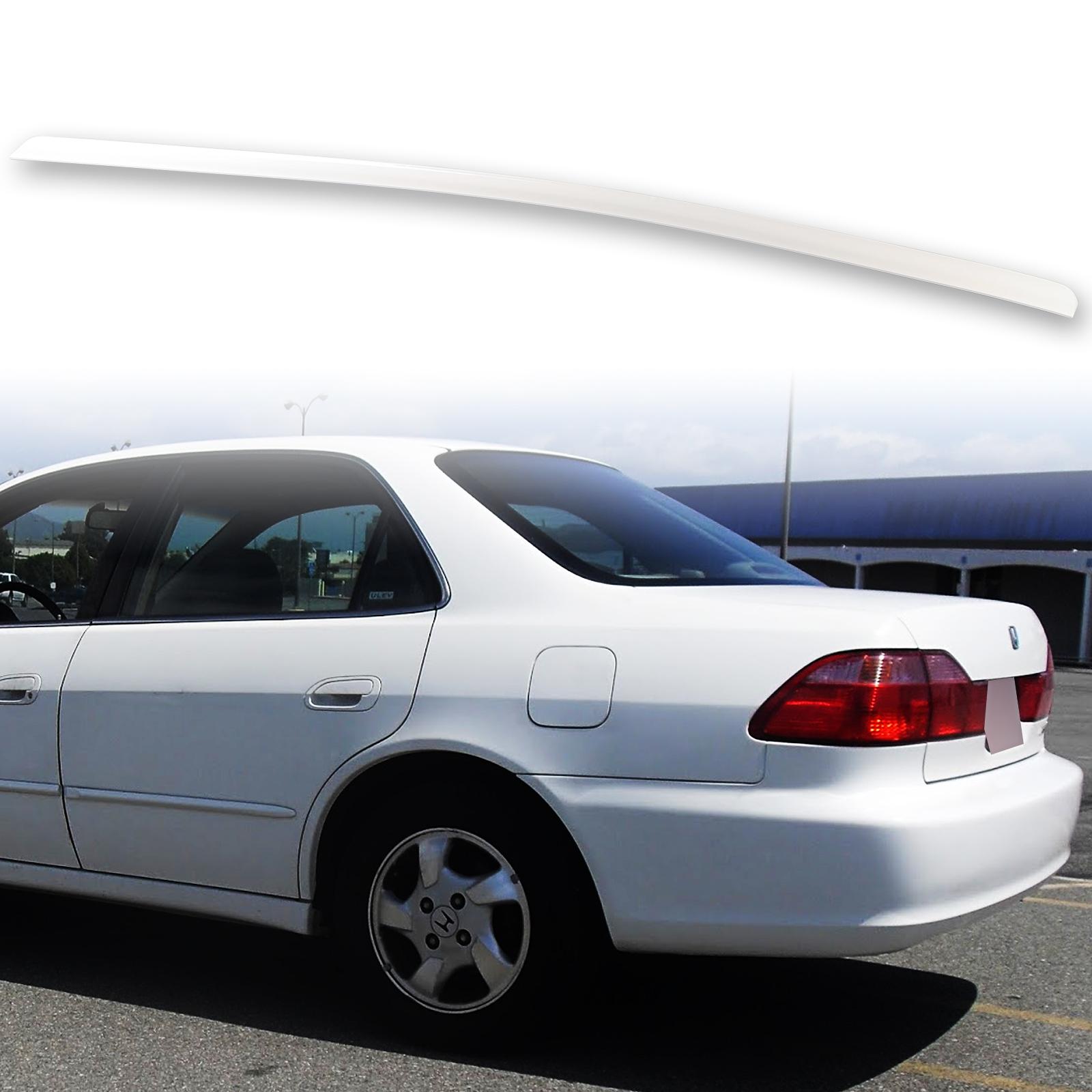 2001 2002 Honda Accord Sedan Rear Bumper Painted NH578 Taffeta White