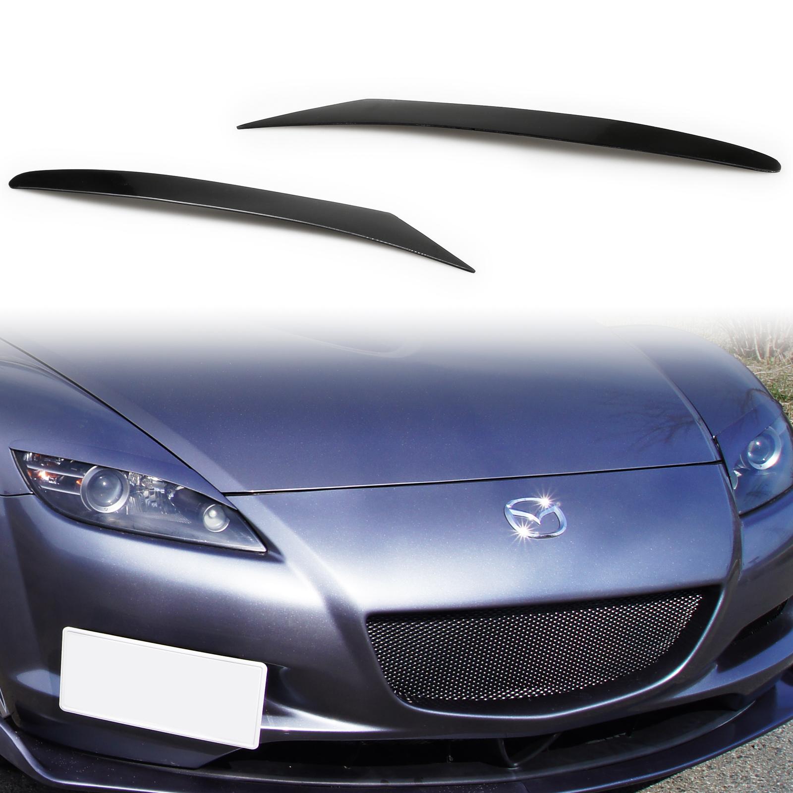 For Mazda Rx 8 Rx8 Headlight Eyebrows Eyelids Ebay